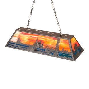 Loon Peak Broad 9-Light Pool Table Lights Pendant