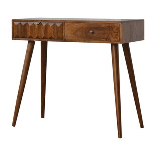Kaydence Solid Wood Console Table By World Menagerie