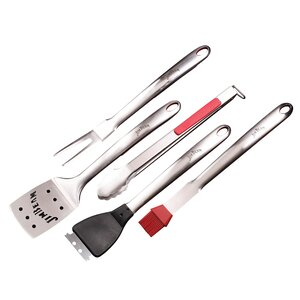 Soft Grip 5-Piece Grilling Tool Set