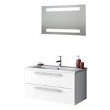 Levasseur 34 Single Bathroom Vanity Set with Mirror by Ivy Bronx