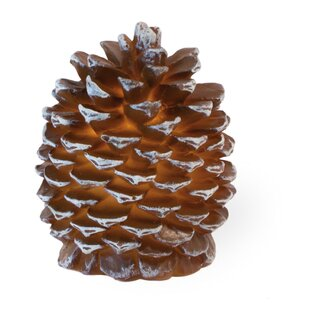 Pinecone LED Unscented Flameless Candle (Set of 2)