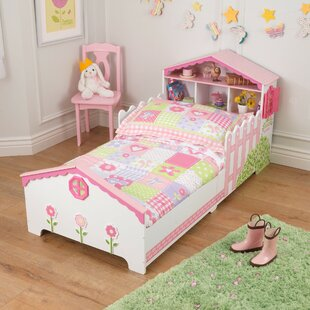 Dollhouse Convertible Toddler Bed By KidKraft