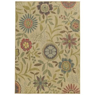 Cabana Hand-Woven Beige Indoor/Outdoor Area Rug by Tommy Bahama Home Cheap