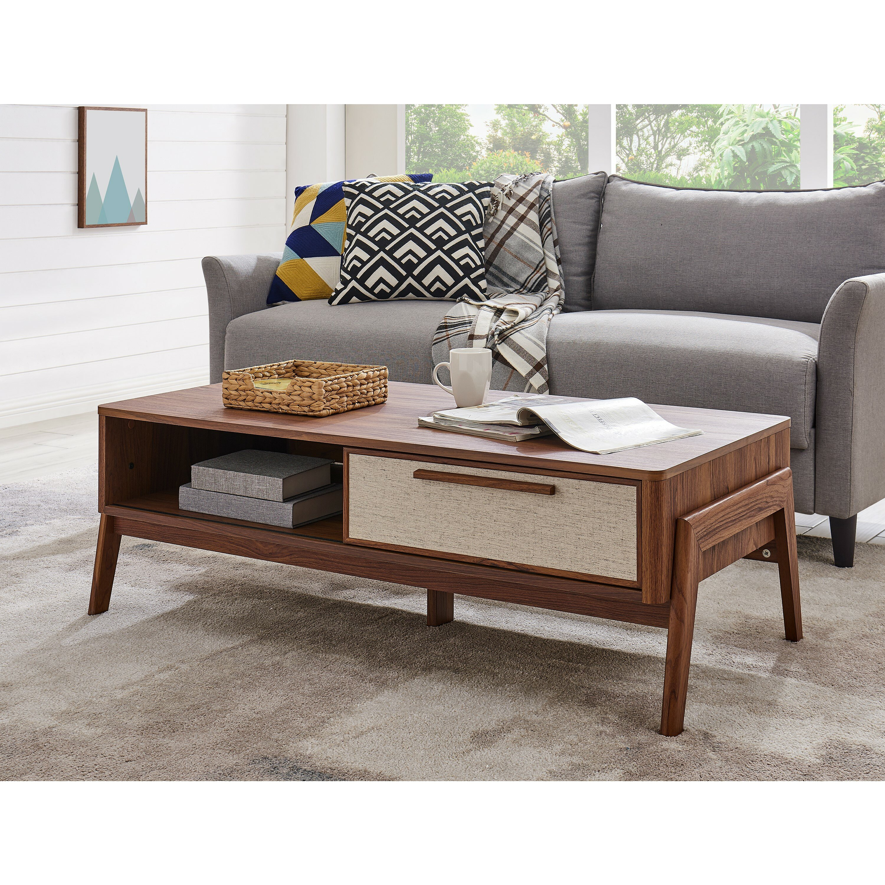 - Wrought Studio Volney Coffee Table With Storage & Reviews Wayfair