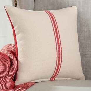 Reversible Grainsack Cotton Throw Pillow (Set of 2)