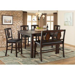 Tuscan Hills 6 Piece Extendable Dining Se..