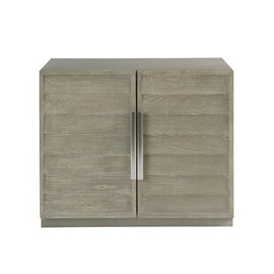 Gracie Oaks Rimini 2 Drawer Accent Cabinet
