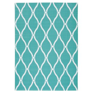 Astrid Blue/White Indoor/Outdoor Area Rug