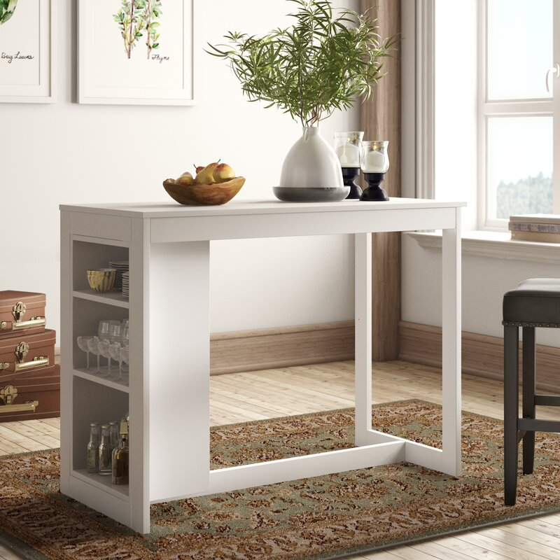 White Cane Outdoor Furniture, Alcott Hill Meidinger Counter Height Dining Table Reviews Wayfair