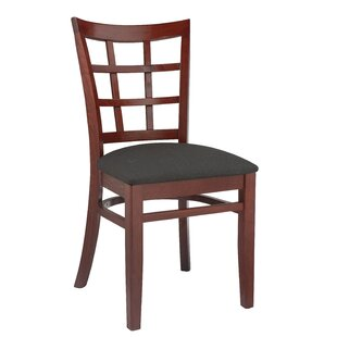 Harner Upholstered Dining Chair (Set Of 2) by August Grove Comparisont
