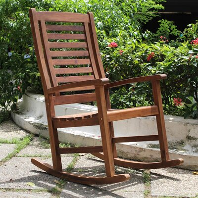 Marvelous Pine Hills Outdoor Rocking Chair