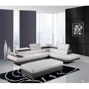 Natalie Reclining Sectional by Global Furniture USA