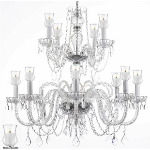 Astoria Grand Loaiza 12-Light Candle Style Chandelier
