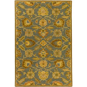 Keefer Hand-Tufted Wool Tan Area Rug
