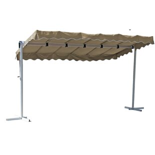 Holloway 4m W X 2m D Retractable Patio Awning By Sol 72 Outdoor
