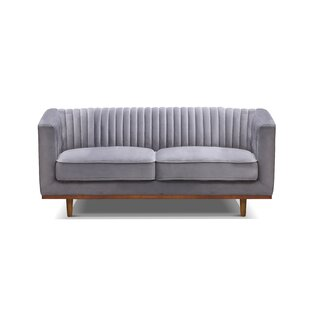 Crofoot Loveseat by Bungalow Rose