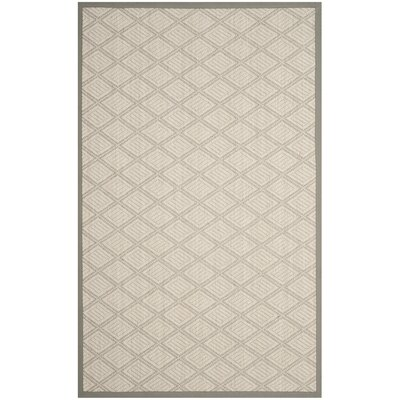 Darby Home Cocarressa Geometric Handwoven Jute Sisal Wool Cream Area Rug Darby Home Co Rug Size Rectangle 5 X 8 Dailymail