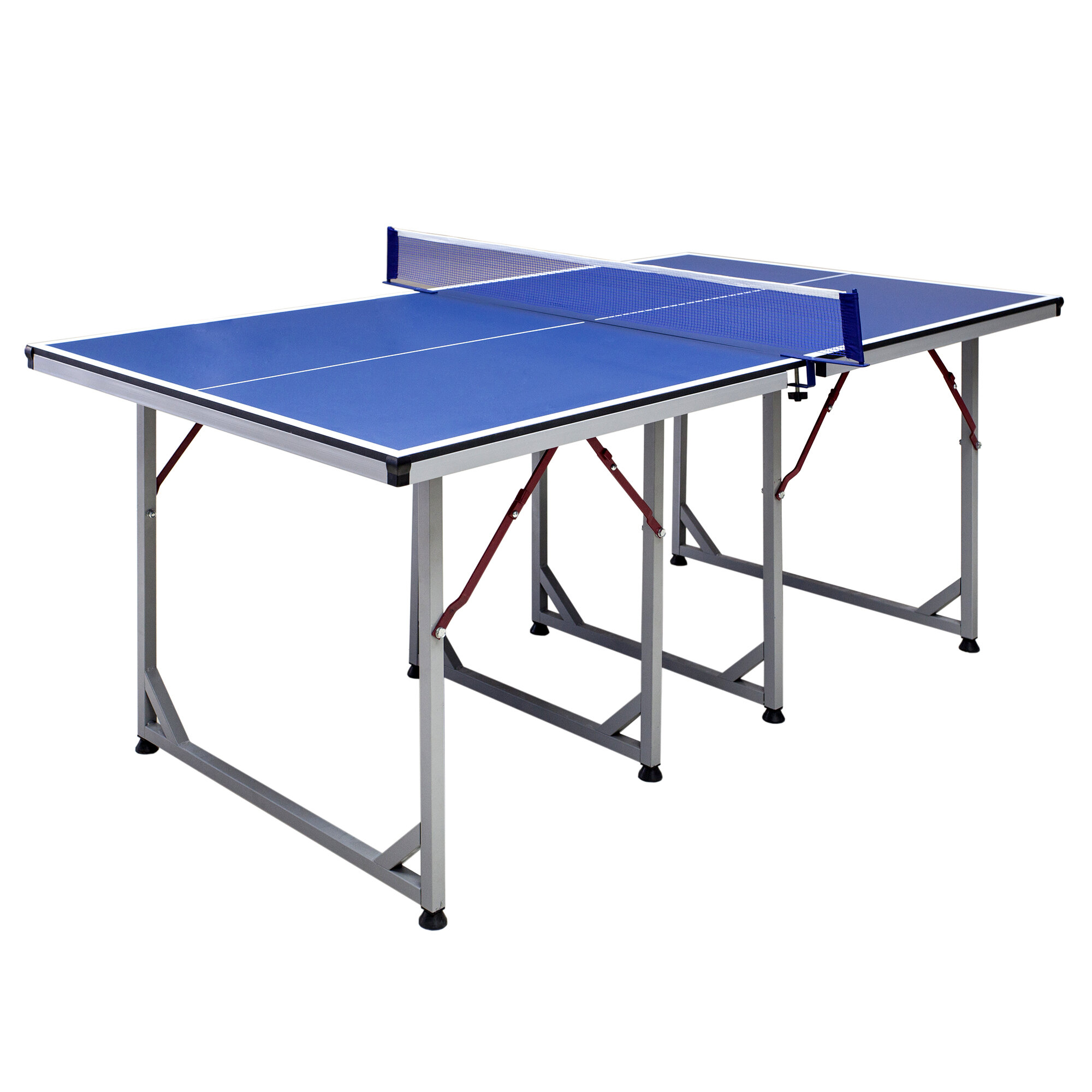Hathaway Games Reflex Foldable Indoor Table Tennis Table With Paddles And Balls Reviews Wayfair
