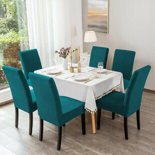 Box Cushion Dining Chair Slipcover (Set Of 4) By Marlow Home Co.