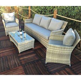 Malge 5 Seater Rattan Sofa Set Image
