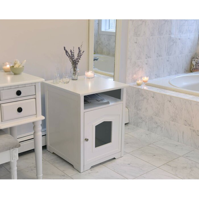 Milla Wood Litter Box Enclosure