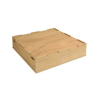 Davion 100cm Square Sandbox With Cover By Freeport Park