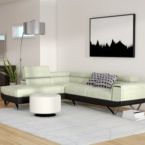 Cana Reclining Sectional by Orren Ellis