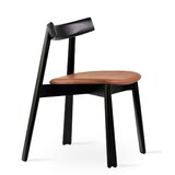 Florence Solid Wood Dining Chair by Industrial Modern