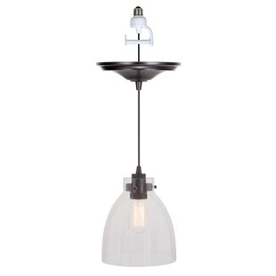 Worth Home Products Instant 1-Light Cone Pendant