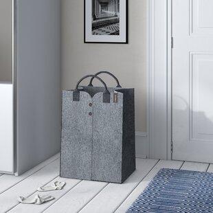Felt Laundry Basket By Symple Stuff