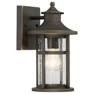 Price Check Mariam 1-Light Outdoor Wall Lantern By Longshore Tides