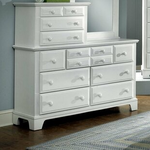 Darby Home Co Cedar Drive 10 Drawer Double Dresser