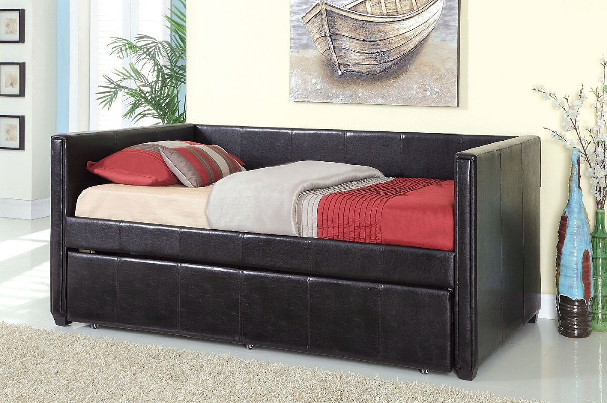Red Barrel Studio Bicester Twin XL Daybed with Trundle