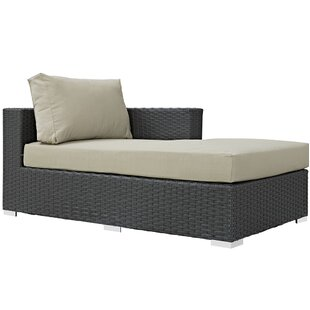Tripp Right Arm Chaise Sectional Piece with Cushions