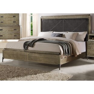 Gracie Oaks Cosima Upholstered Panel Bed