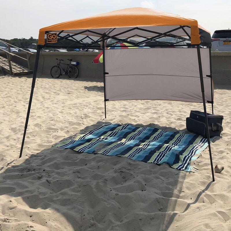 Quikshade Go Hybrid 6 Ft W X 6 Ft D Steel Pop Up Canopy Reviews Wayfair