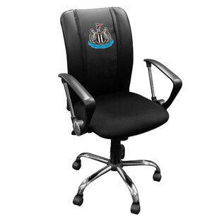 Newcastle United Primary Logo Curve Task Chair