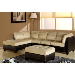 Red Barrel Studio Ranjan Sectional with Ottoman