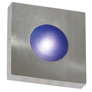 Wildon Home ® Burst 1-Light Outdoor Flush Mount