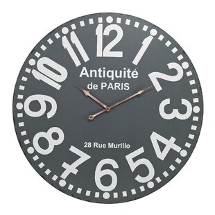 24 Antique Wall Clock by 17 Stories
