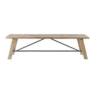 Maiorano Wood Bench by Mis..