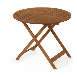 Draco Folding Wooden Dining Table By Blue Elephant