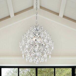 Blencoe 4-Light Crystal Chandelier by Willa Arlo Interiors