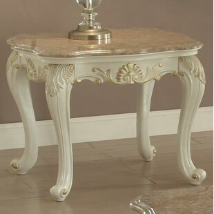 Reviews Wensley End Table by Astoria Grand