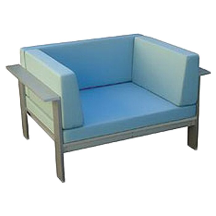 Modern Outdoor Luma Deep Seating Patio Chair With Cushions Wayfair