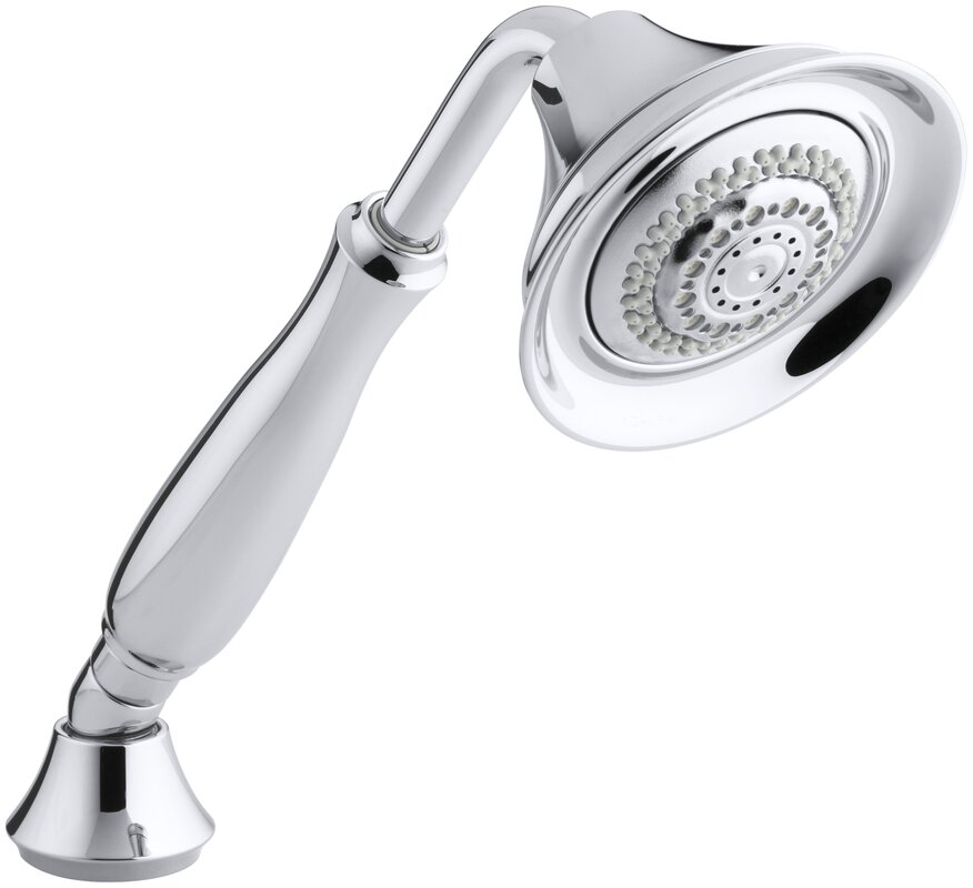 Kohler Forté 2.5 GPM 4-Way Massage Handheld Shower Head & Reviews ...