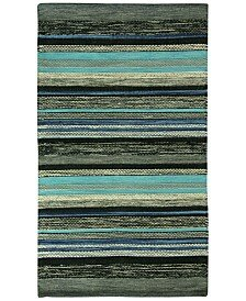 Compare prices Mollins Cotton Dark Blue/Green Area Rug By Jessica Simpson Home