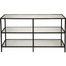 3 Tier Metal/Glass Console Table by Noir