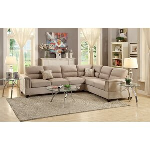 Carley Chaise Sectional by A&J Homes Studio