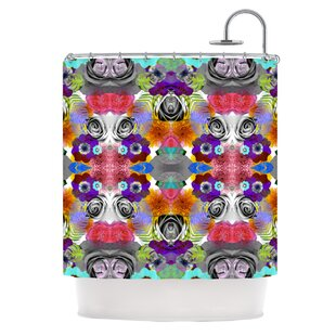 Flowers Single Shower Curtain